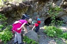 Escursione d'avventura sui sentieri geologici 4.2015